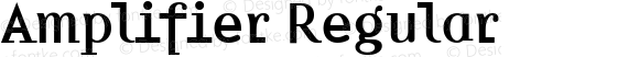 Amplifier Regular Version 1.00