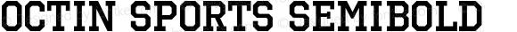 Octin Sports SemiBold