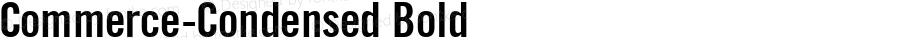 Commerce-Condensed Bold 1.0