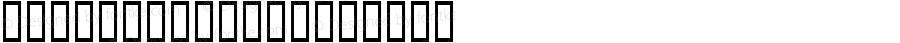 GigaNewMtav Regular Macromedia Fontographer 4.1 7/1/03