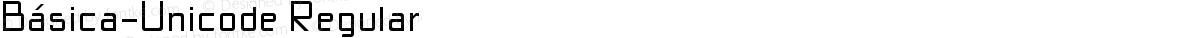 Básica-Unicode Regular