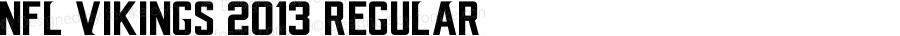 NFL Vikings 2013 Regular Version 1.00 February 19, 2015, initial release