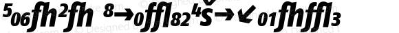 FagoCo ItalicExtrabold