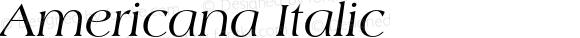 Americana Italic 001.002