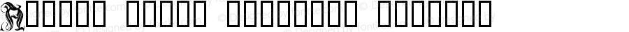 Anders Fancy Capitals Regular Macromedia Fontographer 4.1.5 8.9.03