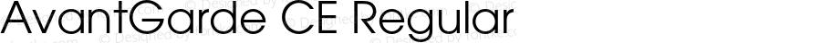 AvantGarde CE Regular OTF 1.0;PS 002.001;Core 1.0.22
