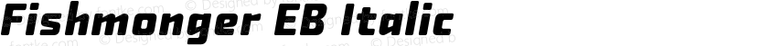 Fishmonger EB Italic Preview Image