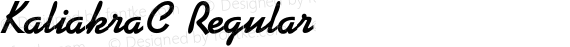 KaliakraC Regular preview image