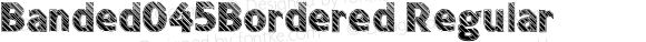 Banded045Bordered Regular Version 1.0; 2001; initial release