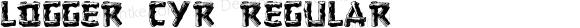 Logger Cyr Regular 2001.01