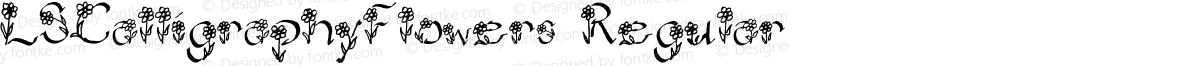LSCalligraphyFlowers Regular