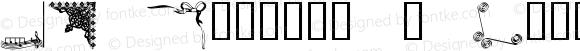 JW Corners 2 Regular Macromedia Fontographer 4.1 20/03/2001