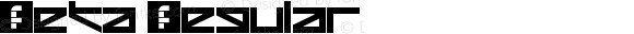 Zeta Regular Version 1.0