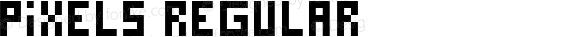 Pixels Regular Macromedia Fontographer 4.1 1998-10-27