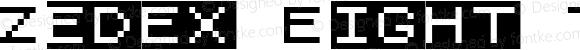 Zedex Eight T One Regular Version 1.200 2010