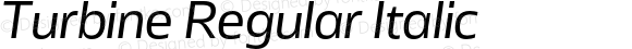 Turbine Regular Italic