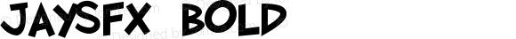 JaySFX Bold Version 1.101;PS 001.001;Core 1.0.38