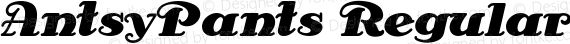 AntsyPants Regular preview image