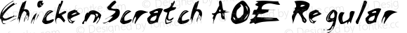 ChickenScratch AOE Regular Version 1.000 2006 initial release