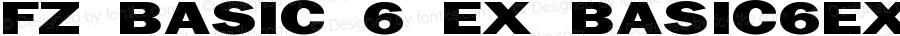 FZ BASIC 6 EX BASIC6EX Version 1.000