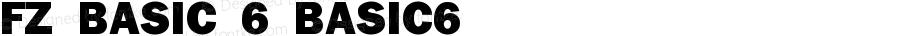 FZ BASIC 6 BASIC6 Version 1.000