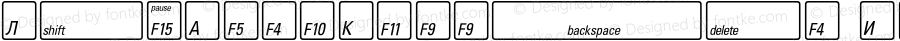 KeyFontRussian Bold OTF 1.0;PS 001.000;Core 116;AOCW 1.0 161