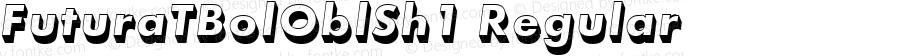 FuturaTBolOblSh1 Regular Version 001.005