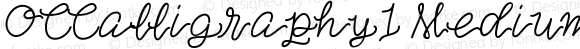 OCCalligraphy1 Medium