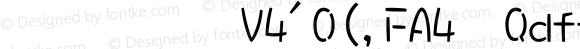 華康娃娃體W5(P)-GB5 Regular
