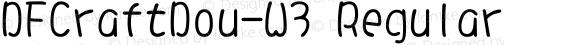DFCraftDou-W3 Regular