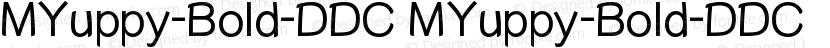 MYuppy-Bold-DDC MYuppy-Bold-DDC Preview Image