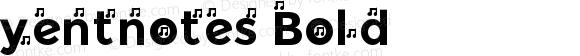 yentnotes Bold
