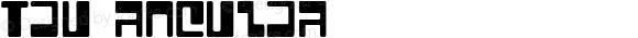 Tau Regular Macromedia Fontographer 4.1.4 30/08/01