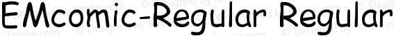EMcomic-Regular Regular preview image