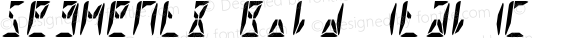 Segment8 Bold Italic