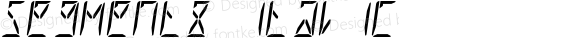 Segment8 Italic