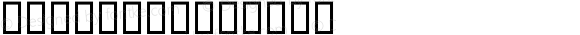 Arb058 Regular Altsys Fontographer 4.1 10/24/95