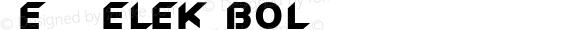 New_Zelek Bold 1.0 Sun Oct 31 15:38:17 1993