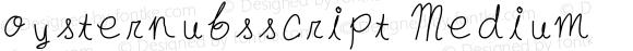 oysternubsscript Medium