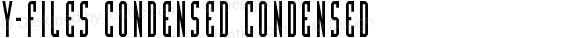 Y-Files Condensed Condensed