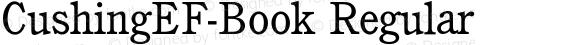 CushingEF-Book Regular preview image