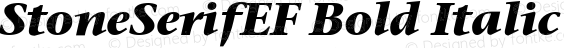 StoneSerifEF Bold Italic OTF 1.000;PS 001.000;Core 1.0.29