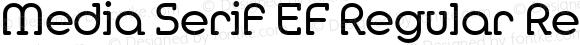 Media Serif EF Regular Regular Macromedia Fontographer 4.1 04.12.2002
