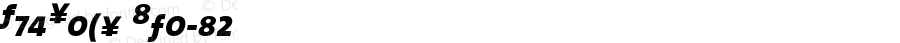TheSans 7 Bold Expert Italic