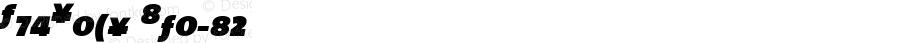 TheSans 9 Black Expert Italic