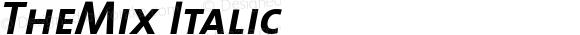 TheMix Italic 1.0