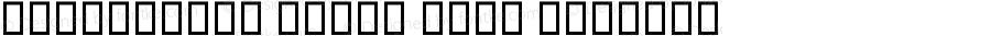 W_kamposet kordi Bold Regular Macromedia Fontographer 4.1 8/29/2005