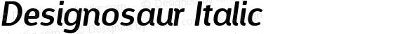 Designosaur Italic