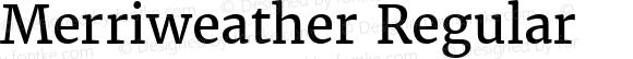 Merriweather Regular