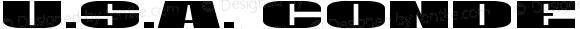 U.S.A. Condensed Condensed